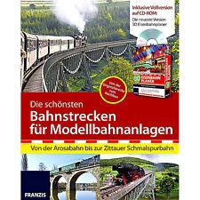 FRANZIS 3D Eisenbahnplaner 2013 + Die schönsten Bahnstrecken f. Modellbahnanla