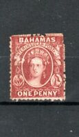 Bahamas 1863-77 1d brown-lake MVLH