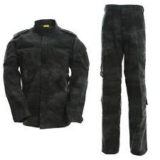 ACU BDU Paintball Combat Camo Camouflage Suit Airsoft Uniform Sets-Jacket Pant