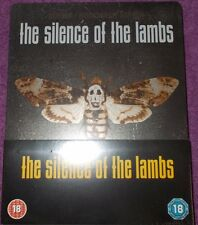 Silence Of The Lambs Steelbook Blu Ray - UK Brand New Sealed