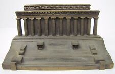 Antique B&H LINCOLN MEMORIAL Cast Iron Doorstop Bookend Statue BRADLEY HUBBARD