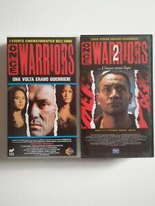 ONCE WERE WARRIORS COLLEZIONE SAGA LEE TAMAHORI IAN MUNE DRAMMATICO VHS