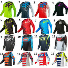 FOX Mens Ranger LS Jersey Long Sleeve Mountain Bike MTB Trail Bicycle Racing New