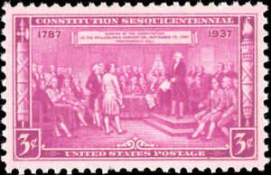 Scott # 798 Constitution Unused Single Stamp MNH OG