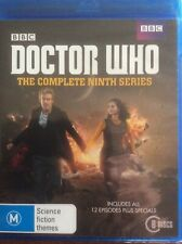 Doctor Who The Complete Ninth Season 6 blu ray 9 Peter Capaldi Jenna Coleman