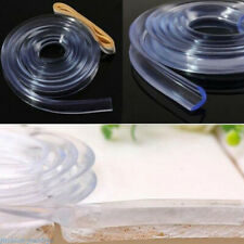 Mother & Kids Useful 1pc Clear Silicone Baby Safety Table Edge Strip Baby Kids Protection With Adhesive Tape Glass Table Edge Furniture Guard Strip Safety Equipment