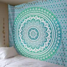 Large Mandala Indian Tapestry Wall Hanging Bohemian Beach Towel Blanket 4 Colors
