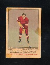1951 Parkhurst #68   Marcel Pronovost (R) (HOF) Fair/Good  Red Wings  LOOK!!!