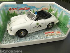Porsche 356 Polizei Exclusiv Limited Edition  1:18  .. Bburago Metall #A2888
