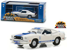 """1976 Ford Mustang Cobra II White """"Charlie's Angels"""" (1976-1981) TV Series 1/43 D"""