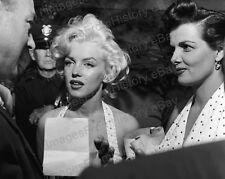 8x10 Print Marilyn Monroe Jane Russell Grauman's Chinese Theatre 1953 #5748