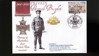 AUSTRALIAN ANZAC VICTORIA CROSS 100th ANNIV COV, Pvt PATRICK BUGDEN