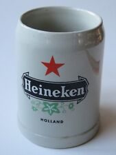Gerz Ceramic 0.5L Beer Mug Stein ~ Heineken Brewery ~ Holland, The Netherlands