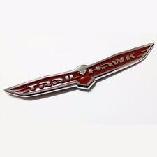 NEW TRAILHAWK RED Nameplate 4X4 Badge Emblem Sticker