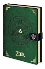Legend Of Zelda - Hyrule Historia - Comic - Notizbuch A5, Notebook, Ringbuch