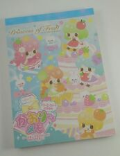 Rare Crux Japan Kawaii Princess of Fruit Memo Pad Collector Stationery Penpals