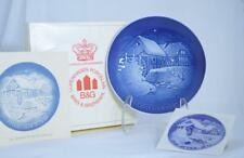 NIB BING & GRONDAHL 1975 OLD WATER MILL CHRISTMAS COLLECTOR PLATE