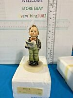 "VINTAGE HUMMEL GOEBEL FIGURINE BOY WITH SHEET MUSIC #135.  4 3/4"" TALL TMK 6"