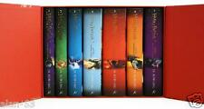 HARRY POTTER SPECIAL ED GIFT COMPLETE BOX of 7 SET ~ BRITISH HC BLOOMSBURY HURT