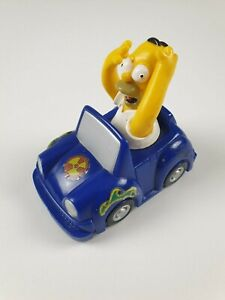 Red Rooster The Simpsons | Homer Pull Back Bumper Bounce Car | 2003