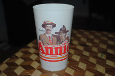 ANNIE the Movie ROOSTER & LILY Vintage Coca Cola COKE Cup 1982 UNUSED Collectors