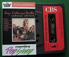 Easy Listening Beatles Ray Conniff Johnny Mathis + Cassette Tape - TESTED
