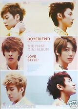 "BOYFRIEND ""LOVE STYLE"" MALAYSIAN PROMO POSTER - Korean Boy Band, K-Pop Music"