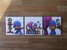 POCOYO CANVAS WALL ART PLAQUES/PICTURES - FREE POST