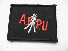 Film & Photo Unit [afpu] velcroed patch, current issue.