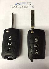 Repair For Hyundai Remote Fob Flip 3 Button Case Blade Cut i10 i20 i30