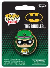 OFFICIAL DC COMICS BATMAN: THE RIDDLER POP! HEROES PIN BADGE (NEW)