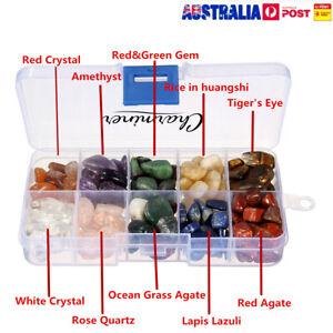 10 Kinds Stone Natural Quartz Crystal Rock Chips Energy Crystal Minera