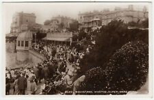 WESTON SUPER MARE - Rozel Bandstand / Shelter - 1944 used real photo postcard