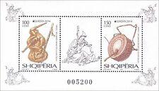 2014 Europa - Albania - souvenir sheet