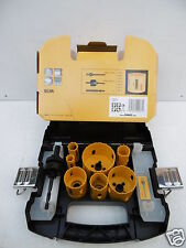 DEWALT DT83003 11pce Holesaw Drill Bit Set