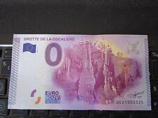 BILLET EURO SOUVENIR 2015-1 GROTTE DE LA COCALIERE