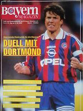 Programm 1995/96 FC Bayern München - FC Schalke 04