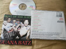 GUANA BATZ : BEST OF THE BATZ CD ALBUM PSYCHOBILLY 14 TRACKS 1988 HEAD MUSIC
