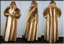 New Coyote Fur Coat Size Extra Large 14 16 XL Efurs4less