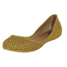 Size 8M Zaxy Amora Gold Womens Fashion Flats Retails for $40-45