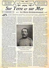 ERNEST VON HOHENLOHE / TONKIN RAILWAYS / MISSION MOLL / HARDOUIN BURMA /ADP 1906