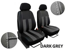 VOLKSWAGEN VW T5 1+1 2003-2015 TAILORED SEAT COVERS ECO LEATHER & ALCANTRA