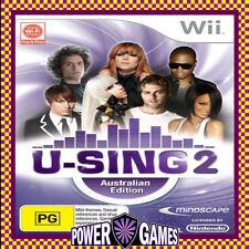 U-Sing 2 Australian Edition (Nintendo Wii) Brand New