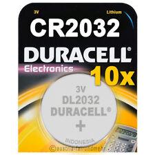 """10x CR2032 DURACELL Electronics Lithium DL2032 3Volt"