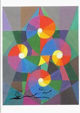 Kunstpostkarte - Johannes Itten - Vier Spiralen