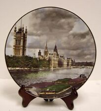 Royal Doulton Houses of Parliament London Collectors Plate T C 1029 England