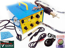 100% Brand New Soldering Hot Air Gun , Quick 900 SMD Rework Station With 8W Iron