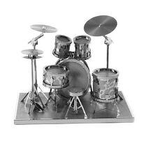 Metal Earth Schlagzeug Set 3D Laser Schneiden Instrument Miniatur Modell Kit