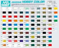 Gunze GSI Mr. Hobby Aqueous Hobby Color Acrylic H1~H467 Model Kit Paint (10ml)