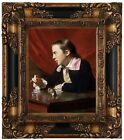 Copley A Boy with a Flying Squirrel 1765 Wood Framed Canvas Print Repro 8x10